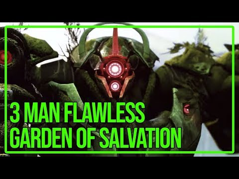 3 Man Flawless Garden of Salvation #MOTW