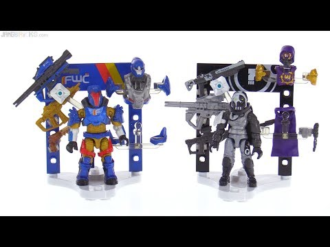 connectYoutube - Rare Mega Construx Destiny Dead Orbit Hunter & FWC Titan Armory sets reviewed