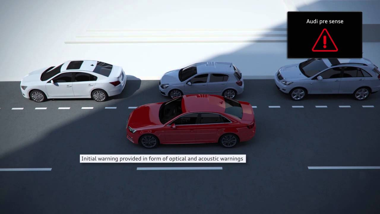 The all-new Audi A4: pre sense city