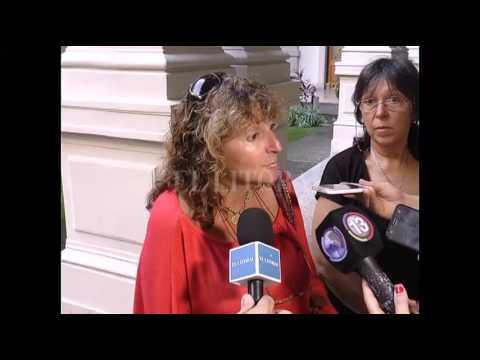Reunión en Casa de Gobierno por la obra de cloaca en Arroyo Leyes