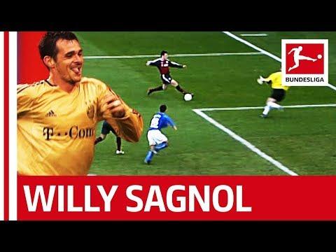 New Bayern Coach Willy Sagnol - His 7 Bundesliga Goals