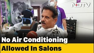 Salons Reopen In Chennai After Two Months Of Lockdown - NDTV