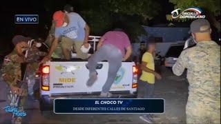 El Choco TV desde las calles De Santiago en Toque de queda | Buena Noche
