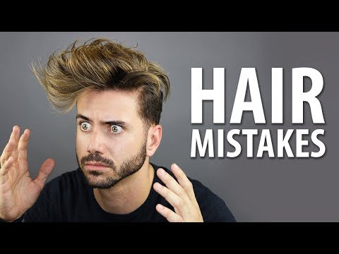 5 MOST COMMON HAIRSTYLING MISTAKES MEN MAKE | Healthy Hair Tips for Men | Alex Costa