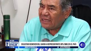 #Teleprensa33 | Representante OPS-OMS ha participado en conferencias de prensa