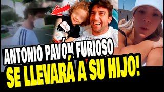ANTONIO PAVÓN LLEGÓ AL PERÚ PARA LLEVARSE A SU HIJO TRAS VIAJE DE SHEYLA ROJAS