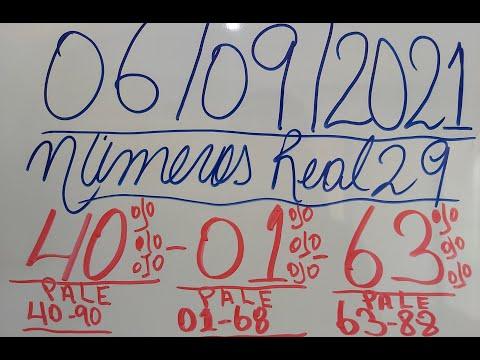 NUMEROS PARA HOY 06/09/2021 DE SEPTIEMBRE PARA TODAS LAS LOTERIAS