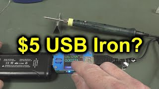 EEVblog #1113 - Is a $5 USB Soldering Iron Useful?