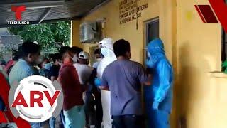 Escasez de tanques de oxígenos desata peleas en hospitales de Honduras | Al Rojo Vivo | Telemundo