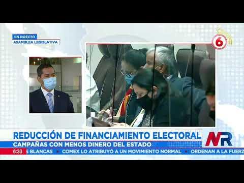 Diputados deciden reducir financiamiento electoral ante la situación fiscal del país