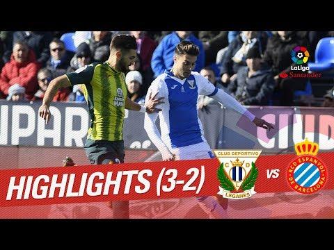 Resumen de CD Leganés vs RCD Espanyol (3-2)