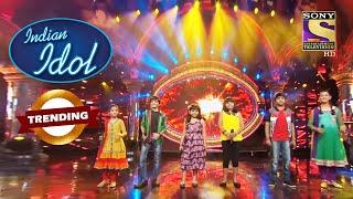 Indian Idol Juniors ने Finalists बनने की करी शुरुवात | Indian Idol Junior | Trending - SETINDIA