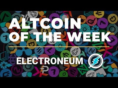 Electroneum Explained | Altcoin of the Week