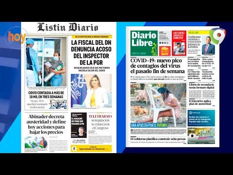 Titulares prensa dominicana lunes 21JUN | Hoy Mismo