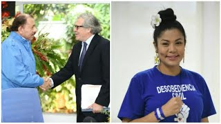 Excarcelada Irlanda Jerez solicita a Luis Almagro declarar ilegítimo a Daniel Ortega