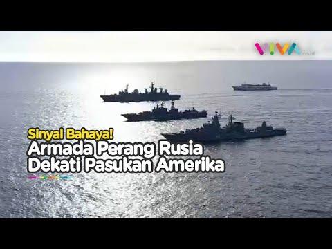 Sinyal Bahaya, Armada Perang Rusia Bergerak Dekati Pasukan Amerika