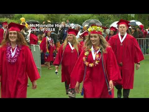 2018 McMinnville High School Graduation