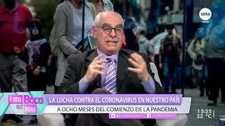 La lucha contra el coronavirus en nuestro país a ocho meses del comienzo de la pandemia /1