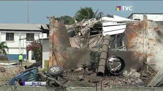 Explosión en fábrica atunera dejó a dos fallecidos en Manta