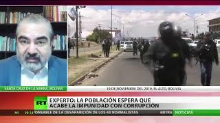Luis Arce acusa a Áñez de intentar impedir su participación en las presidenciales bolivianas