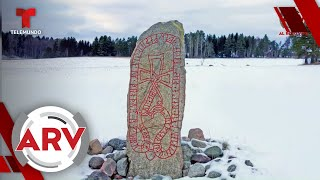 Piedra vikinga del siglo noveno predice catástrofe, expertos lo descifran   Al Rojo Vivo   Telemundo