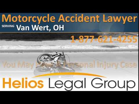 Van Wert Motorcycle Accident Lawyer & Attorney - Ohio