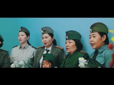 «Катюша» для ветерана. Воспитанники детсада Бишкека поздравили участника войны