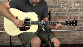 Avalon AD2022 Mic Preamp Demo Video -- Acoustic Guitar