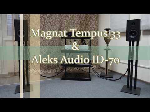 Magnat Tempus 33 & Aleks Audio ID-70 прослушивание, сравнительный тест