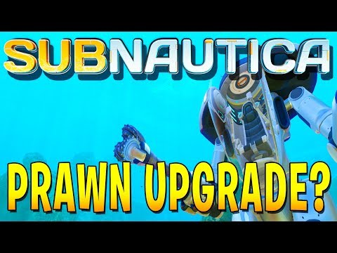 UPGRADING MY PRAWN SUIT WITH GRAPPLING AND DRILL ARMS! (Subnautica Full Release Gameplay)