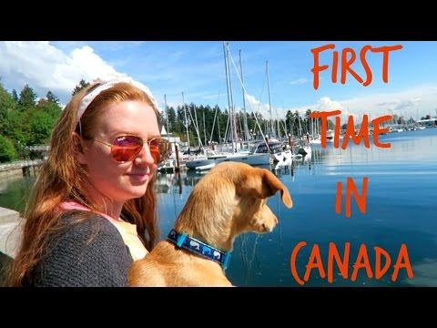 FIRST TIME IN CANADA   VANCOUVER VLOG