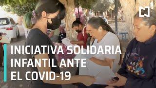 Niña registra a adultos mayores para recibir vacuna contra el Covid-19 en Coahuila - En Punto