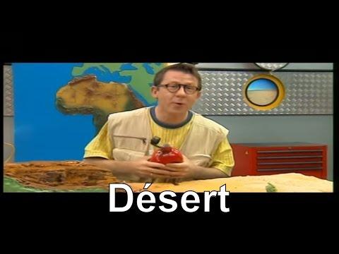 Y a-t-il de l'eau dans le désert ? - C'est pas sorcier