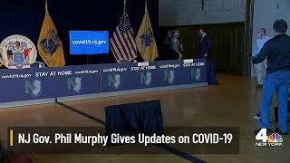 NJ Gov. Murphy Updates on Coronavirus Response