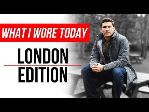 What I Wore Today | London England Edition