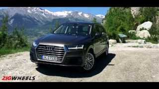 2016 Audi Q7 :: WalkAround Video :: Zigwheels