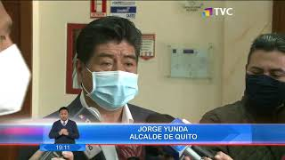 CNE entregó protocolo para campaña electoral al municipio de Quito