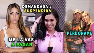 Dalisa Alegria DEMANDA A AMELIA ALCANTARA y la SUSPENDEN y Nabil PERDONA a SANDRA BERROCAL