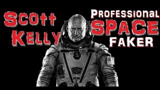 Scott Kelly Questioned about Bubbles in Space - Flat Earth