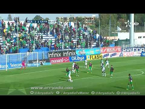 الرجاء البيضاوي 3-3 يوسفية برشيد هدف أيوب نناح