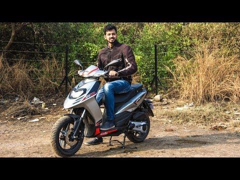 connectYoutube - Aprilia SR 125 Review - Buy SR 150 Instead   Faisal Khan