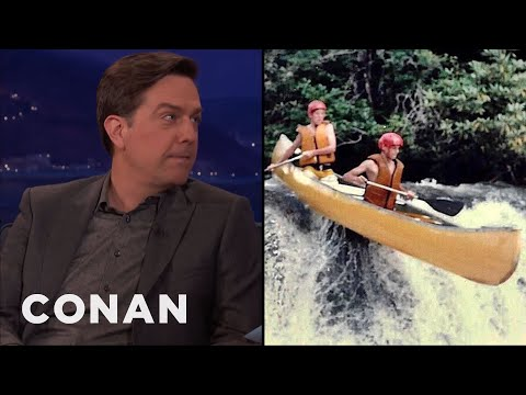 connectYoutube - Ed Helms Canoed On The River From
