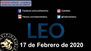Horóscopo Diario - Leo - 17 de Febrero de 2020