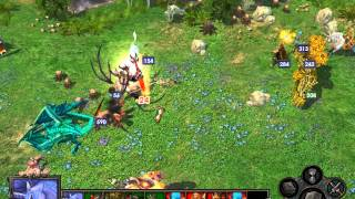 Heroes Of Might And MAgic 5 Tribes Of The East Inferno VS Sylvan