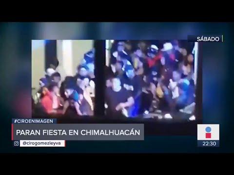 No les importó la pandemia a 200 jóvenes con fiesta en Chimalhuacán