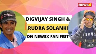 Golfer Digvijay Singh and Skydiver Rudra Solanki on NewsX Fan Fest | NewsX - NEWSXLIVE