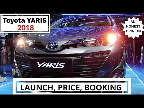 connectYoutube - TOYOTA YARIS 2018 LAUNCH, PRICE, BOOKING & AN HONEST REVIEW AND OPINION