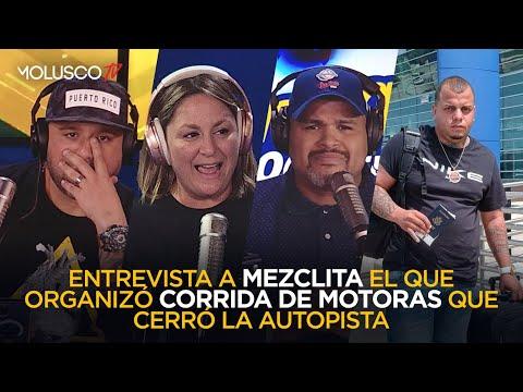 """MOLUSCO Y ALI confrontan a """"Mezclita""""hombre q organizó corrida q detuvo el tránsito en plena avenida"""