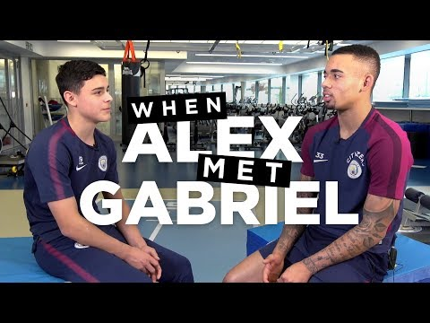 WHEN ALEX MET GABRIEL JESUS | Rehab Tips from a Pro
