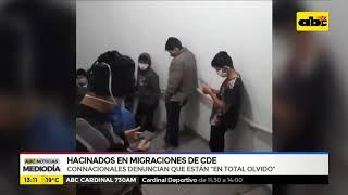 Hacinados en migraciones de CDE